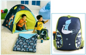 kids play tent blue