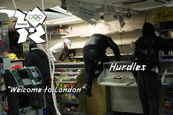 olympic 2012 hurdles